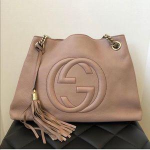 Authentic Gucci medium soho tassel bag
